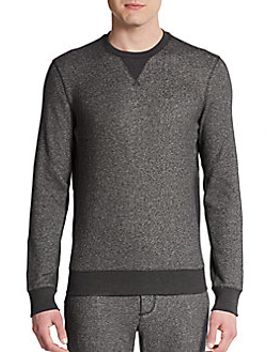 marled-cotton-sweater by vince