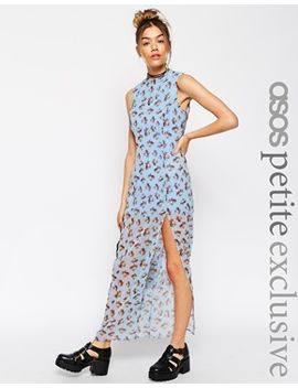 asos-petite-maxi-dress-in-pastel-floral-with-thigh-split by asos-petite