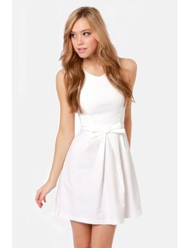 hot-off-the-precious-ivory-dress by lulus