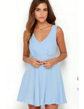 heavens-adore-light-blue-backless-dress by lulus