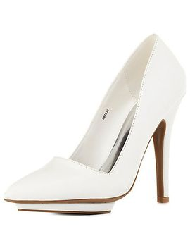 pointed-toe-mini-platform-pumps by charlotte-russe
