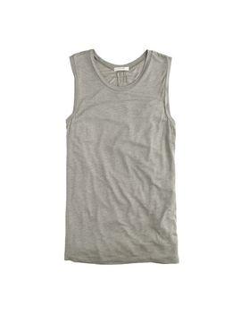 drapey-sleeveless-t-shirt by jcrew