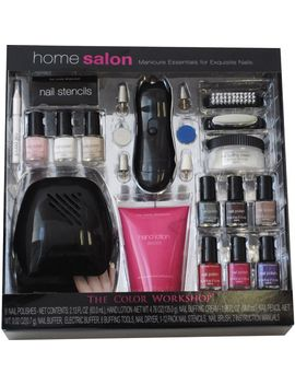 home-salon---manicure-and-polish-gift-set-with-nail-dryer by home-salon