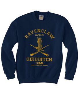 captain-ravenclaw-quidditch-team-unisex-sweatshirt by geekspride