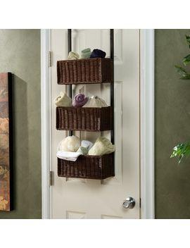 3-tier-overdoor-hanging-organizer by wildon-home-®