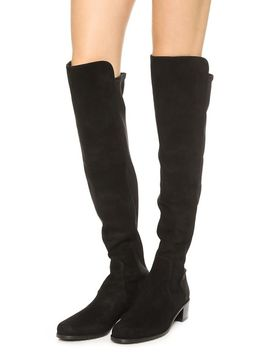 reserve-stretch-suede-boots by stuart-weitzman