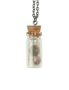 disney-the-little-mermaid-ariel-charms-bottle-necklace by hot-topic
