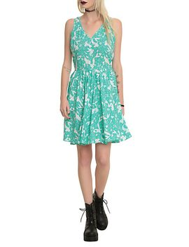 disney-the-little-mermaid-silhouette-dress by hot-topic