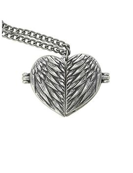 supernatural-castiel-wings-heart-locket-necklace by hot-topic