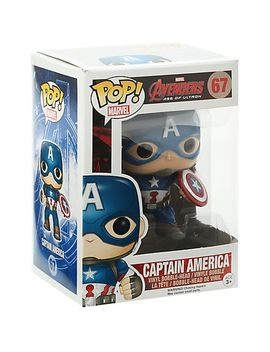 funko-marvel-avengers:-age-of-ultron-pop!-captain-america-vinyl-bobble-head by hot-topic