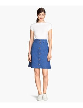 denim-skirt by h&m