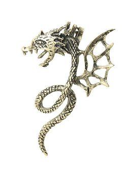 lovesick-dragon-ear-cuff-earring by hot-topic