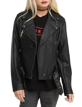 royal-bones-by-tripp-faux-leather-quilted-moto-jacket by hot-topic