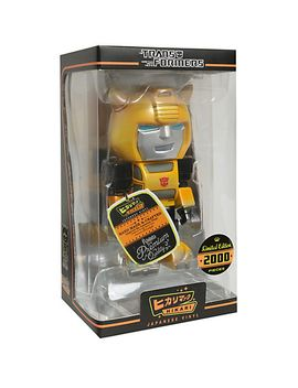 funko-transformers-metallic-bumblebee-limited-edition-vinyl-figure by hot-topic