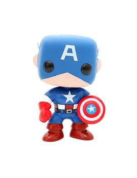 marvel-universe-pop!-captain-america-vinyl-figure by hot-topic