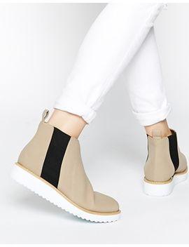 asos-afiata-flatform-chelsea-boots by asos-collection