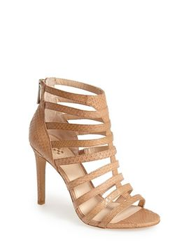 kamella-snake-embossed-leather-caged-sandal by vince-camuto