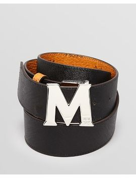 reversible-logo-belt by mcm