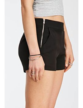 zipper-front-shorts by forever-21