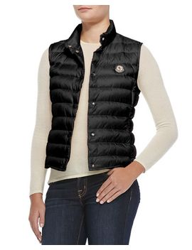 liane-puffer-vest,-black by moncler
