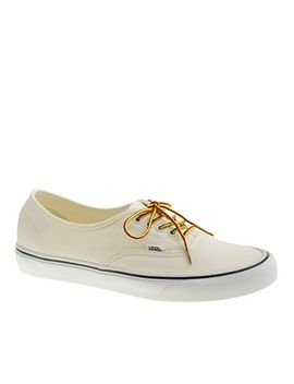 vans®-for-jcrew-canvas-authentic-sneakers by vans