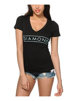 diamond-supply-co-future-v-neck-t-shirt by diamond-supply