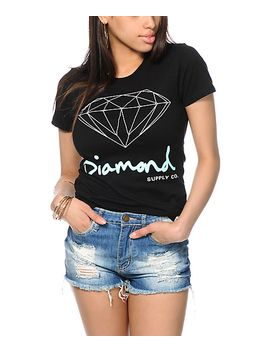 diamond-supply-co-og-script-black-t-shirt by diamond-supply