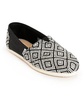 toms-classic-woven-diamond-womens-shoes by toms-shoes