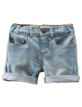 stretch-denim-shorts---rainwashed-light-wash by oshkosh