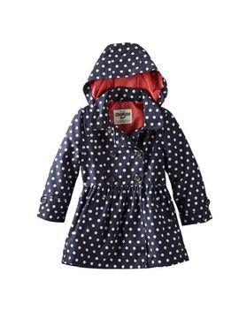 hooded-polka-dot-trench-coat by oshkosh