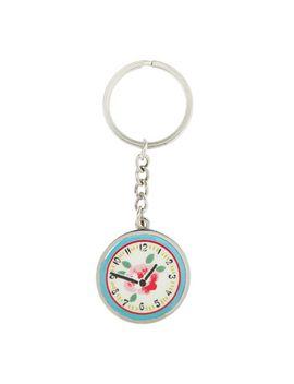 clocks-metal-keyring by cath-kidston