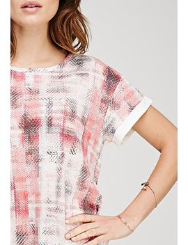 boxy-abstract-print-tee by forever-21