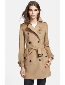 double-breasted-wool-&-cashmere-trench by burberry-london