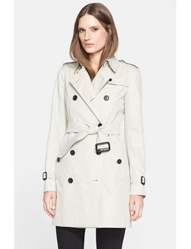 kensington-mid-trench-coat by burberry