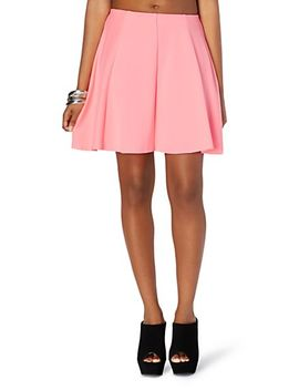 raw-edge-scuba-skater-skirt by rue21