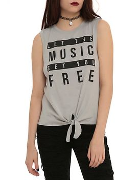 music-set-you-free-tie-front-girls-muscle-top by hot-topic