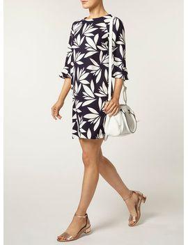 navy-printed-shift-dress by dorothy-perkins