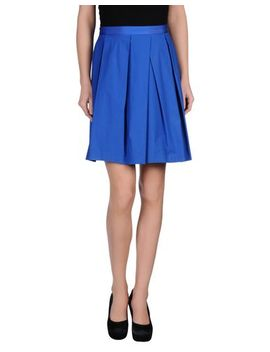 blue-les-copains-knee-length-skirt---skirts-d by see-other-blue-les-copains-items