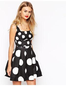 asos-spot-debuntante-mini-dress by asos-collection