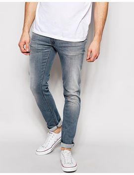 nudie-jeans-tight-long-john-skinny-fit-stretch-damaskus-steel by nudie