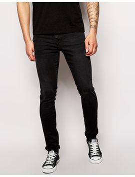 dr-denim-snap-skinny-jeans-in-black by dr-denim