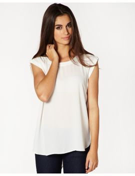 rolled-sleeve-blouse by glassons