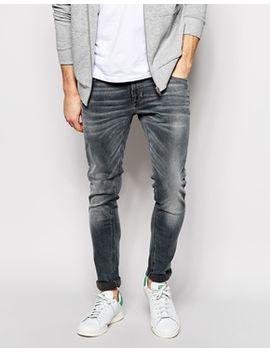 nudie-jeans-super-skinny-lin-stretch-fit-back-to-grey by nudie