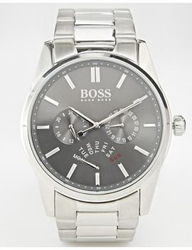 hugo-boss-chronograph-stainless-steel-strap-watch-1513127 by hugo-boss