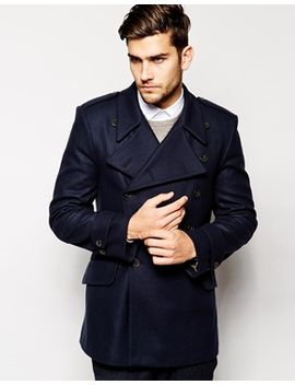 french-connection-wool-peacoat by french-connection