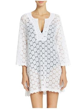 eyelet-tunic-coverup by lord-and-taylor