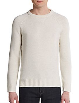 wool-&-cashmere-crewneck-sweater by vince