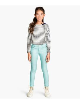 slim-fit-twill-pants by h&m