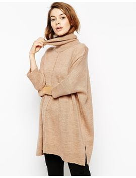 asos-cape-tunic-with-roll-neck by asos-collection