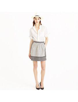 textured-block-print-skirt by jcrew